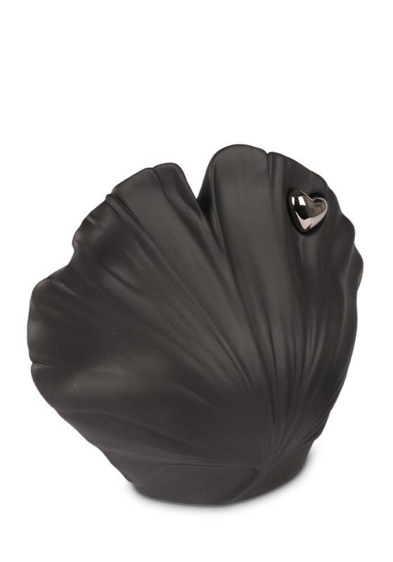 Urn schelp zwart, 1,6L