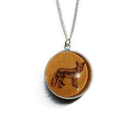 Ketting Animal style vos, M