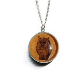 Ketting Animal style uil, M