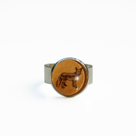 Ring  Animal style vos, S