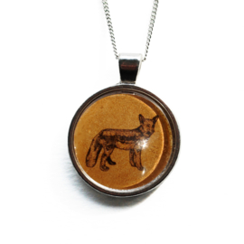 Ketting Animal style vos, L