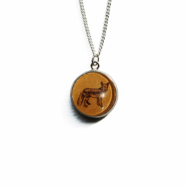 Ketting Animal style vos, S