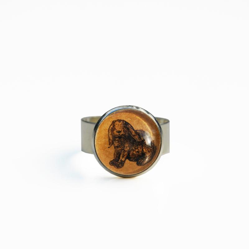 Ring konijn  Animal Styl