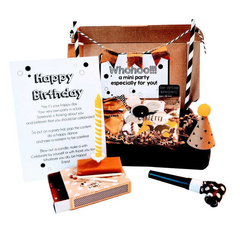 Happy Birthday box S
