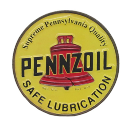 Metal sign Pennzoil
