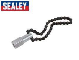 SEALEY Oliefilter sleutel ketting oliefiltertang
