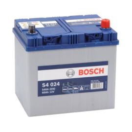 BOSCH S4024 auto start accu 12V 60AH