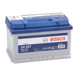 BOSCH S4007 auto start accu 12V 72Ah