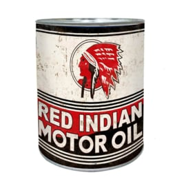 Classic Oil Can - Red Indian