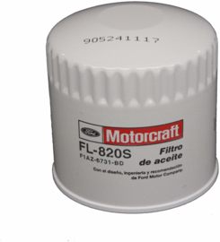 Oliefilter Ford Motorcraft FL-820S