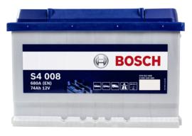 BOSCH S4008 auto start accu 12V 74Ah