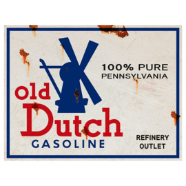 Metal sign Old Dutch
