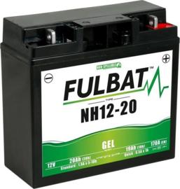 Fulbat Motor Accu 12V 20Ah NH12-20 GEL