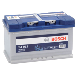 BOSCH S4011 auto start accu 12V 80Ah