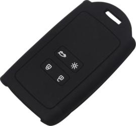 Sleutelcover sleutelhoes voor sleutelkaart Renault 4 knops