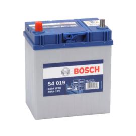 BOSCH S4019 auto start accu 12V 40AH  +links