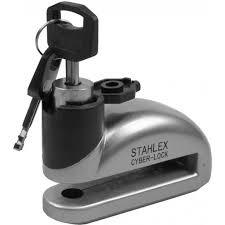 Stahlex Schijfremslot 10mm motorslot