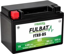 Fulbat Motor Accu 12V 8Ah FTX9-BS GEL