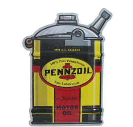 Metal sign Pennzoil Motor Oil