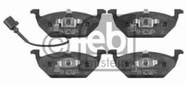 Febi Bilstein Remblokset vooras VW Golf IV met Slijt-indicator