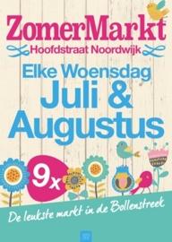 9x | Zomermarkt (NOV lid) | Grondplaats 4 meter | Noordwijk aan Zee | Hoofdstraat
