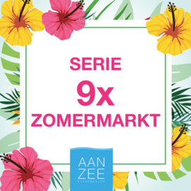 9x Deelname Zomermarkt Noordwijk 2019 (Kraam)