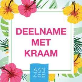 9x Deelname Zomermarkt Bomstraat Noordwijk 2019 (Kraam)