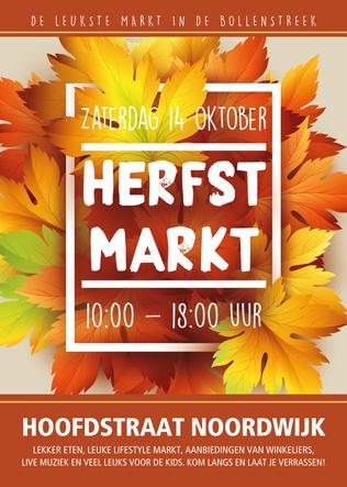Deelname | Herfstmarkt (Grondplaats) | Noordwijk aan Zee | Hoofdstraat