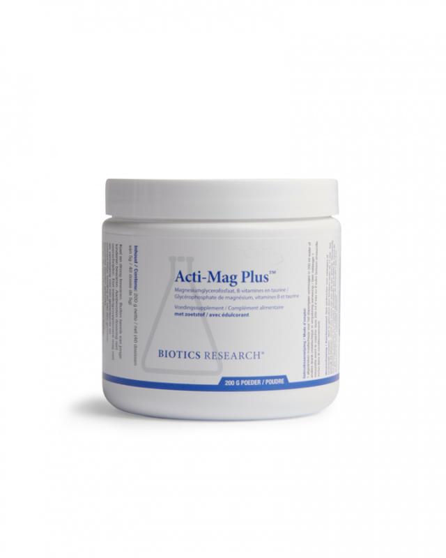 Acti Mag Plus, Biotics Research, 200 gram