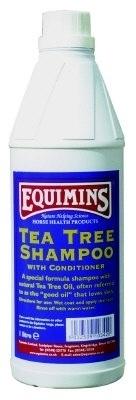 Tea Tree Shampoo with Conditioner - Equimins, 1 liter