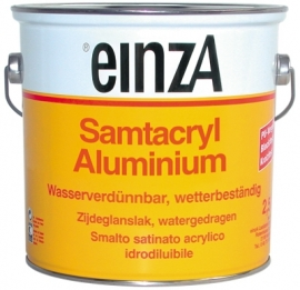 6 * 0,75 Samtacryl WeissAluminium Ral 9006