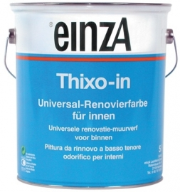 Thixo-in - Synthetische Isolerende latex - in 1 laag dekkend - 1 maal 5 liter - WIT