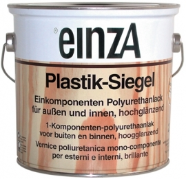 6 * 0,25 Plastik-Siegel - Hochglanzend farblos