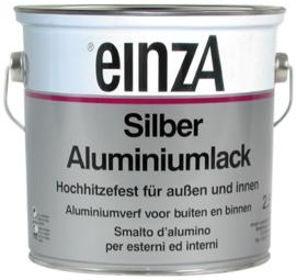 6 * 0,25 Silber Aluminiumlack 400 C Seidenglanzend