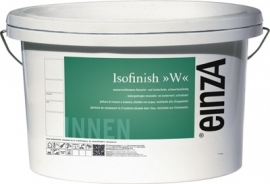 einzA - Isofinish W - Isolerende latex - in 1 laag dekkend - 1 maal 5 liter - WIT