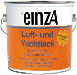 6 * 0,75 Luft- und Yachtlack - Hochglanzend farblos