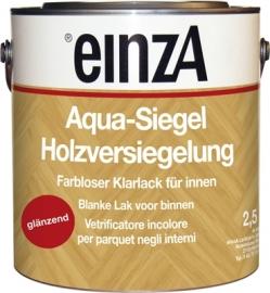 6 * 0,25 Aqua Siegel PU - Glanzend farblos