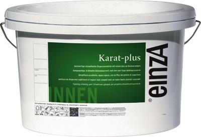 einzA - KARAT plus - in 1 laag dekkend - 15 maal 10 liter - Ultra WIT - SPATVRIJ