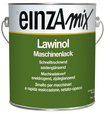 3 * 3 liter - lawinol maschinenlack seidenglanzend - basis 2