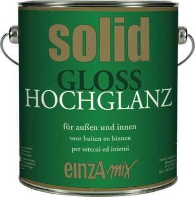 6 * 1 liter - solid gloss hochglanz - basis 1