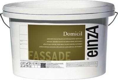 6 liter Domicil basis 3 - Seidenmatte Universal-Hausfarbe mit Haftungspromotor.