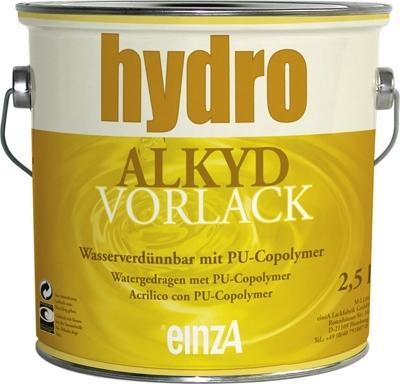 6 * 2,5 liter - Hydro alkyd vorlack - wit