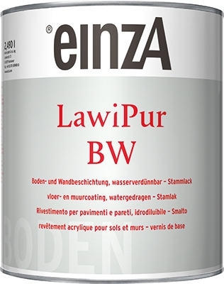 6 * 1 ltr Lawipur BW basis 2 incl. harder