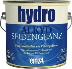 6 * 1 liter - Hydro alkyd seidenglanz - basis 1