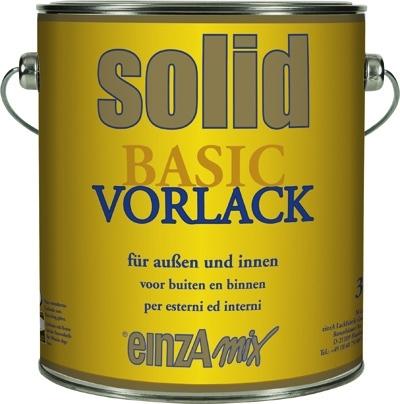 6 * 1 liter - solid vorlack - basis 2