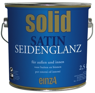 6 * 1 liter - solid satin seidenglanz - basis 1