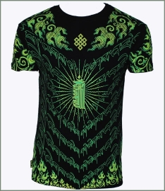 Lime Kalachakra T-shirt