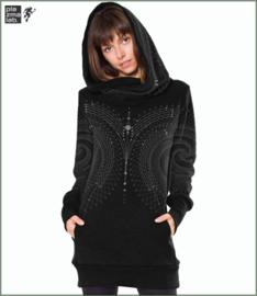 Venus hoodie long black