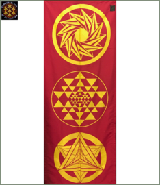 Slim Wallhanging red