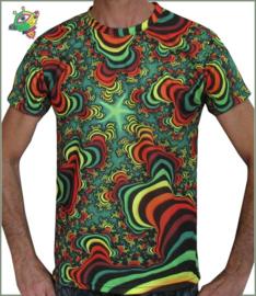 Rainbow Valley Fractal T-shirt